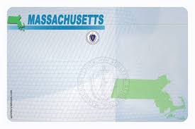 Sample Blank Massachusetts Driver License Card